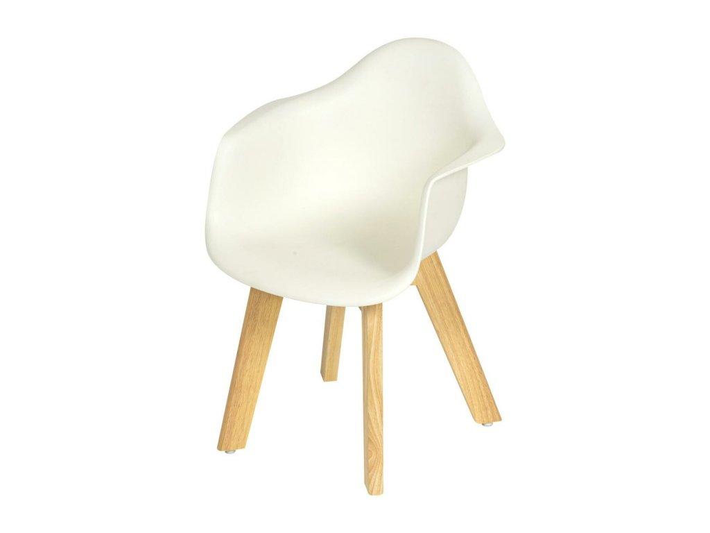 Quax detská stolička pre deti biela