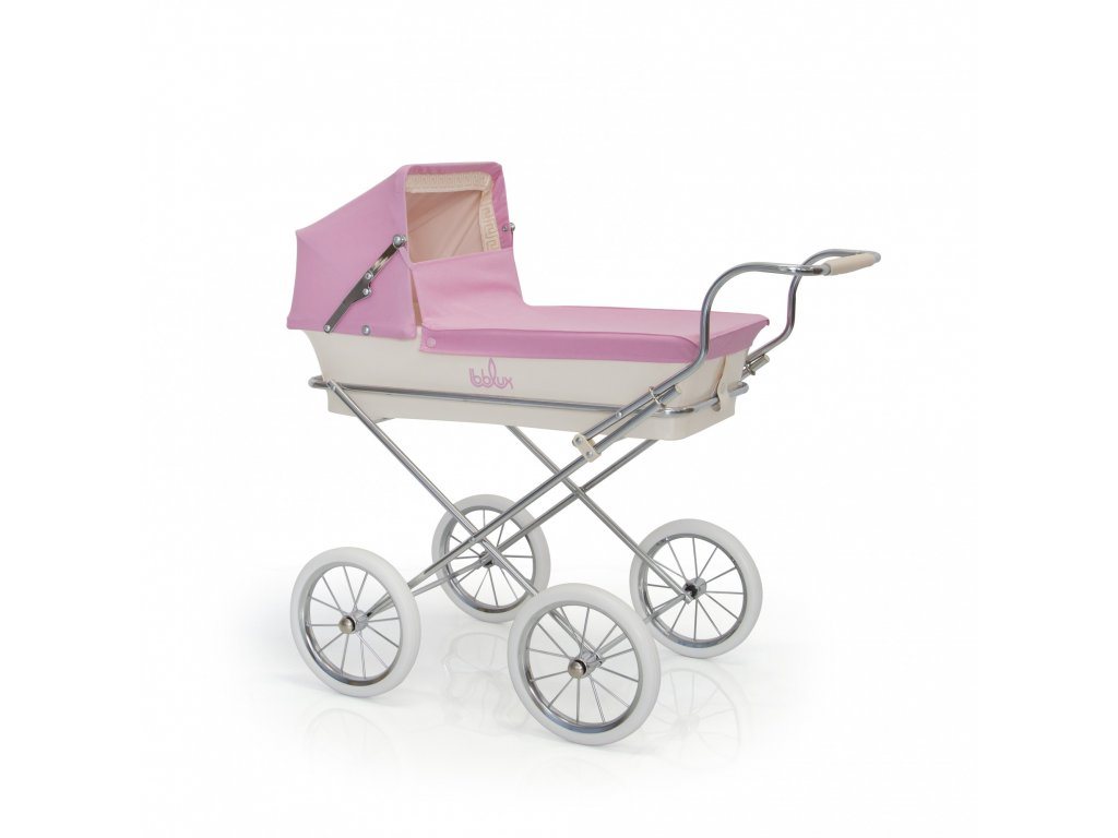 19628 bebelux detsky kocik miniparis pink 62cm