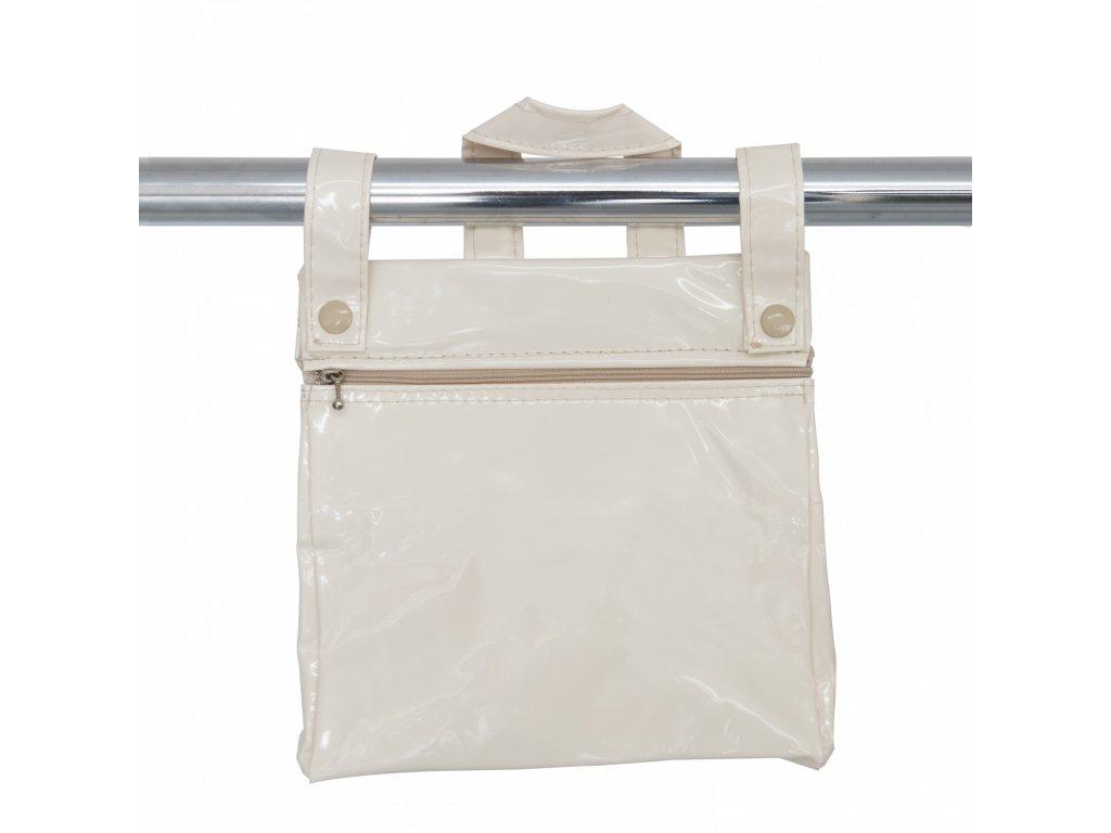 19844 bebelux kozena taska so zipsom beige