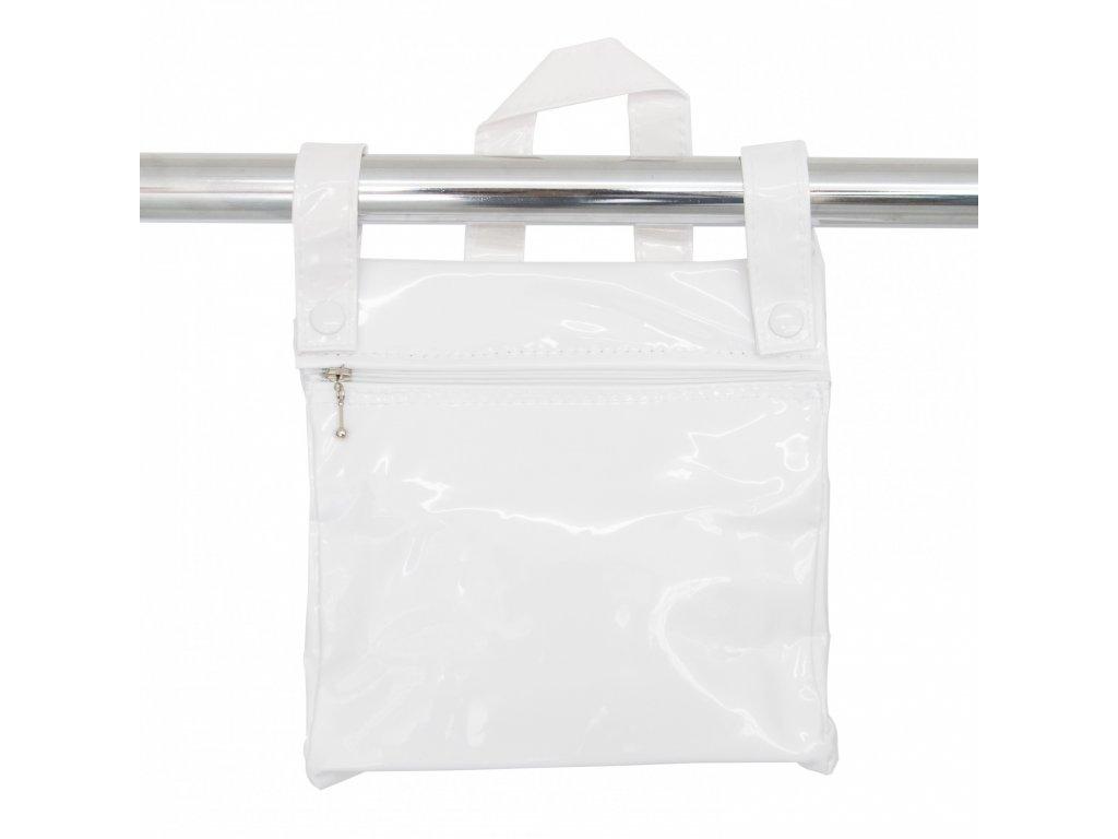 19847 bebelux kozena taska so zipsom white