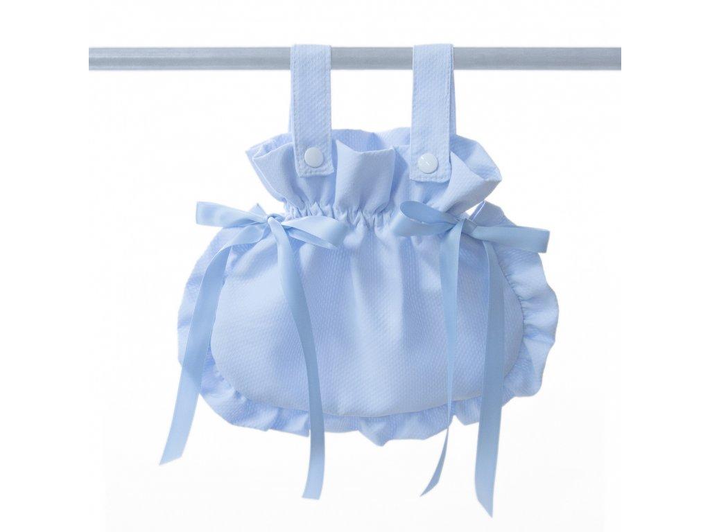 19874 bebelux taska so maslickami light blue