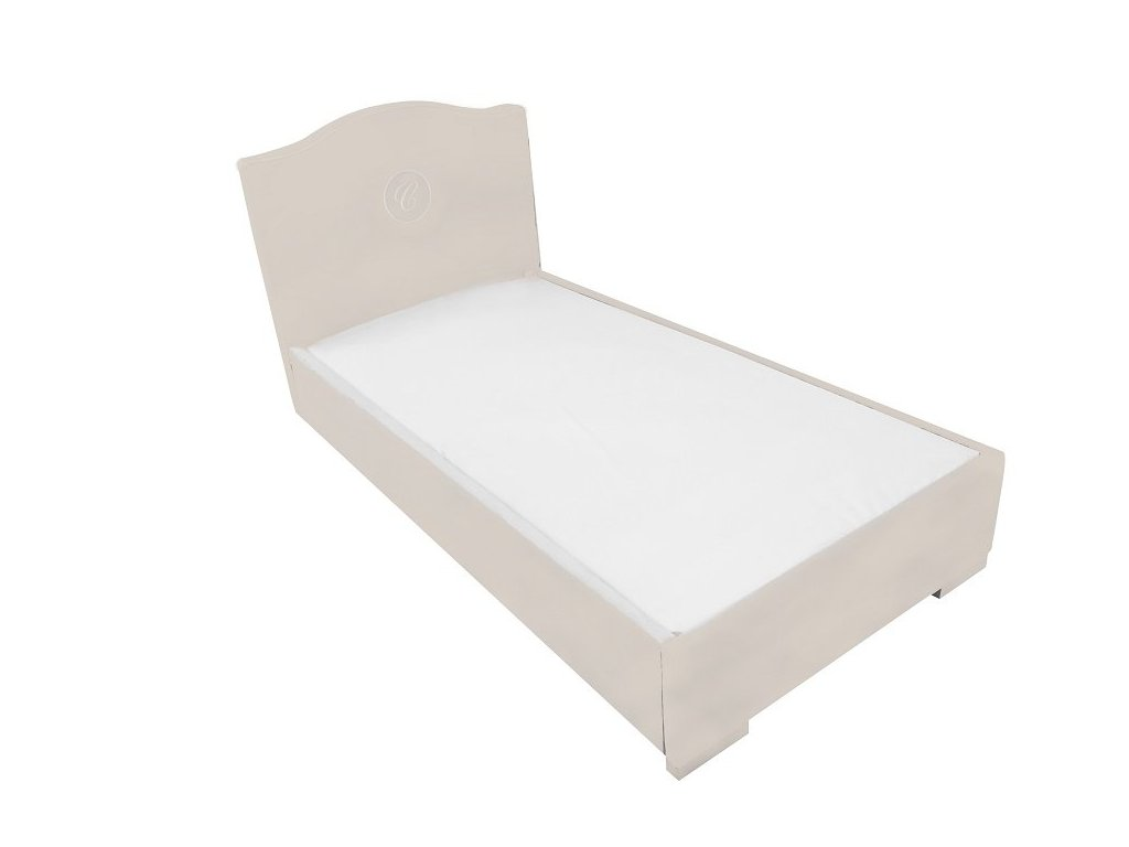 21266 caramella calunena detska postel hampton 90x200cm bezova