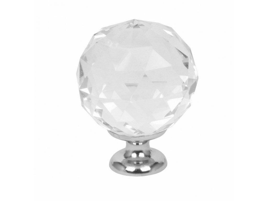 21314 caramella kristalovo biely gombik na nabytok