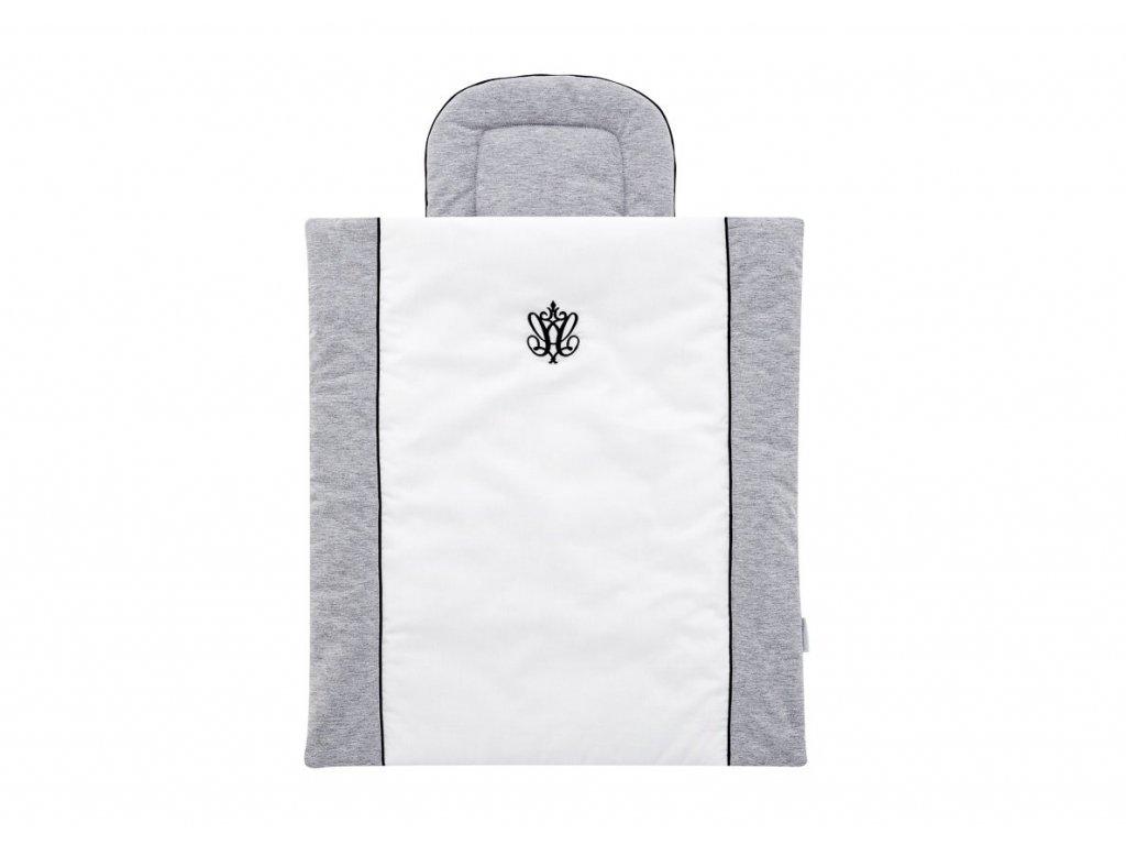 Caramella Manhattan mini obliečky s výplňou šedé