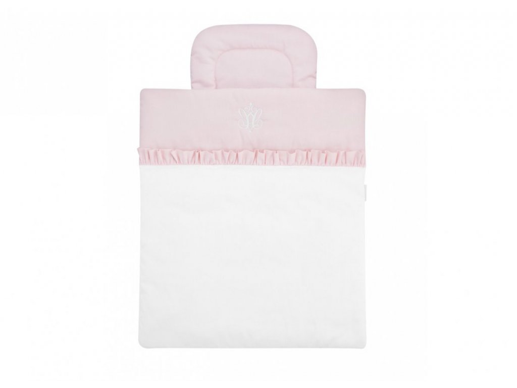 23342 caramella mini obliecky baby baby pink s vyplnou