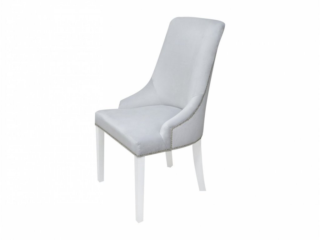 Caramella čalúnená stolička Hampton šedá