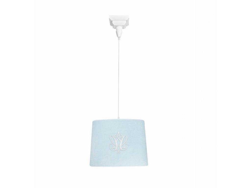 caramella visiaca lampa so znakom modra