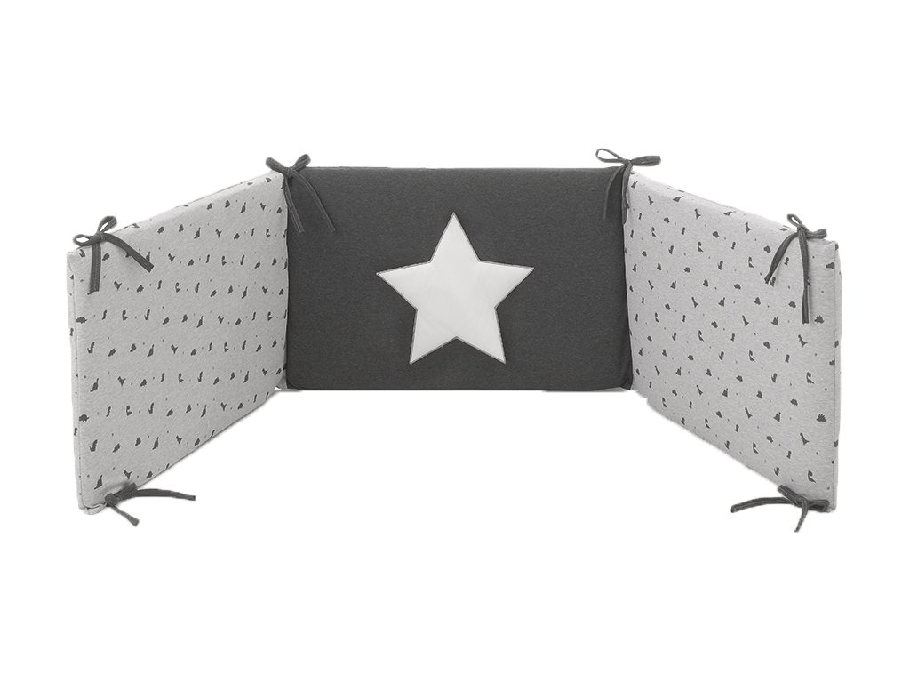 22940 italbab jurassic mantinel s postelnou bieliznou sedy
