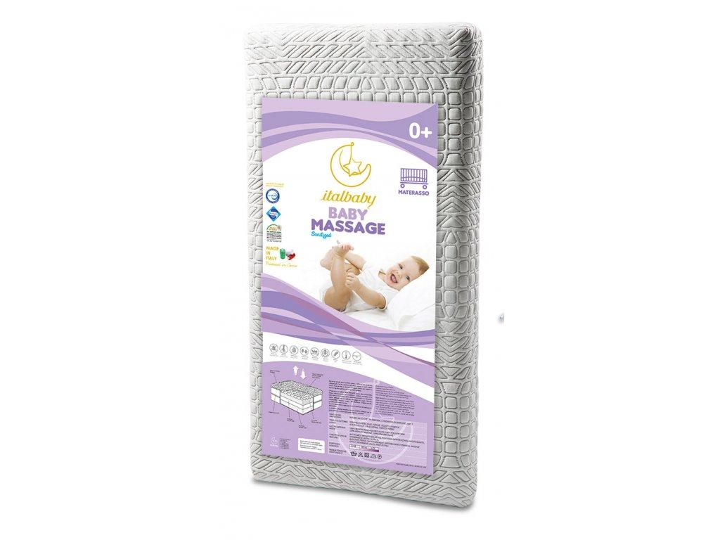 Italbaby detský matrac Baby Massage 63x125cm