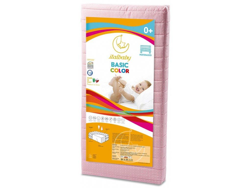 Italbaby detský matrac Basic 63x125cm