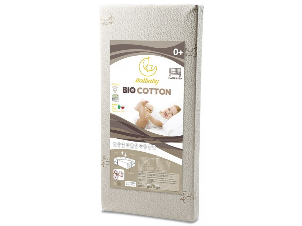 15605 italbaby detsky matrac bio bavlna 60x120cm