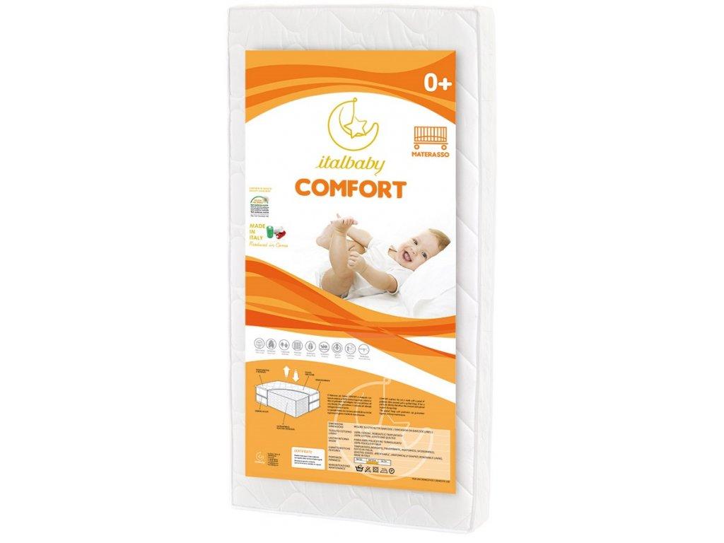 Italbaby detský matrac Comfort 63x125cm