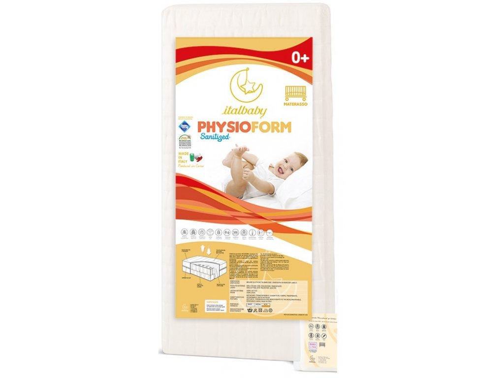 21974 italbaby detsky matrac physioform 63x125cm