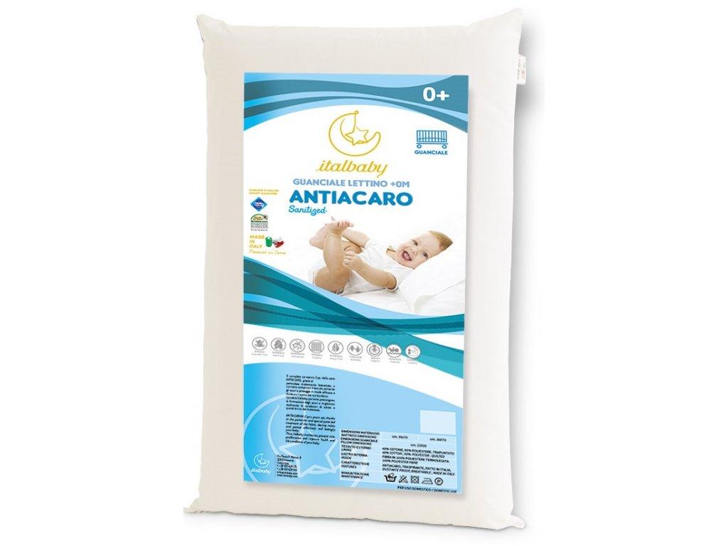 12740 italbaby detsky vankus antiacaro