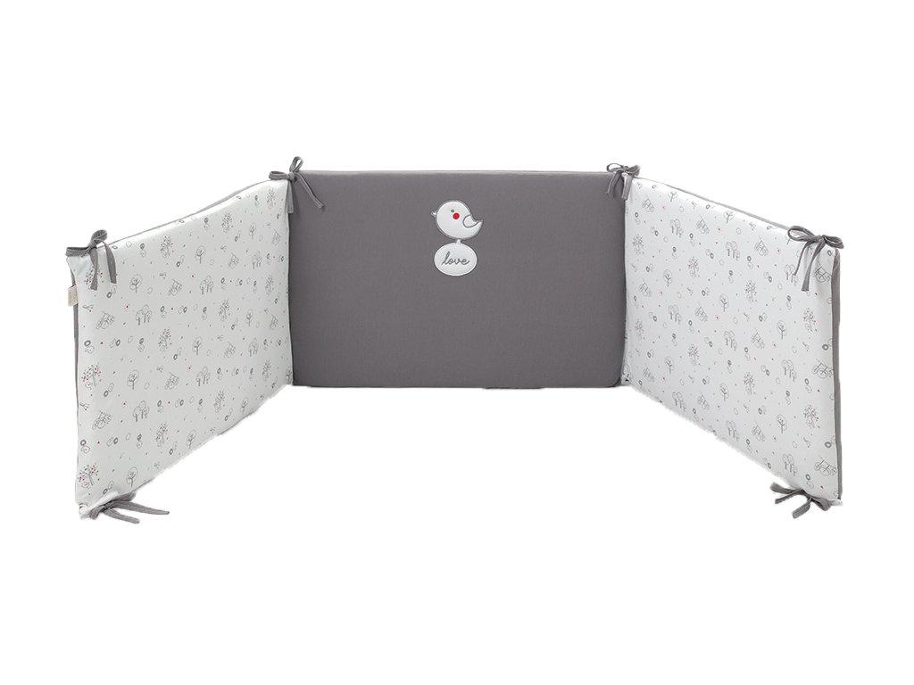 Italbaby mantinel s posteľnou bielizňou Birds