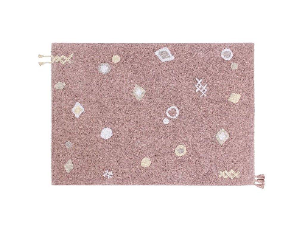 Lorena canals bavlnený ručne tkaný detsky koberec