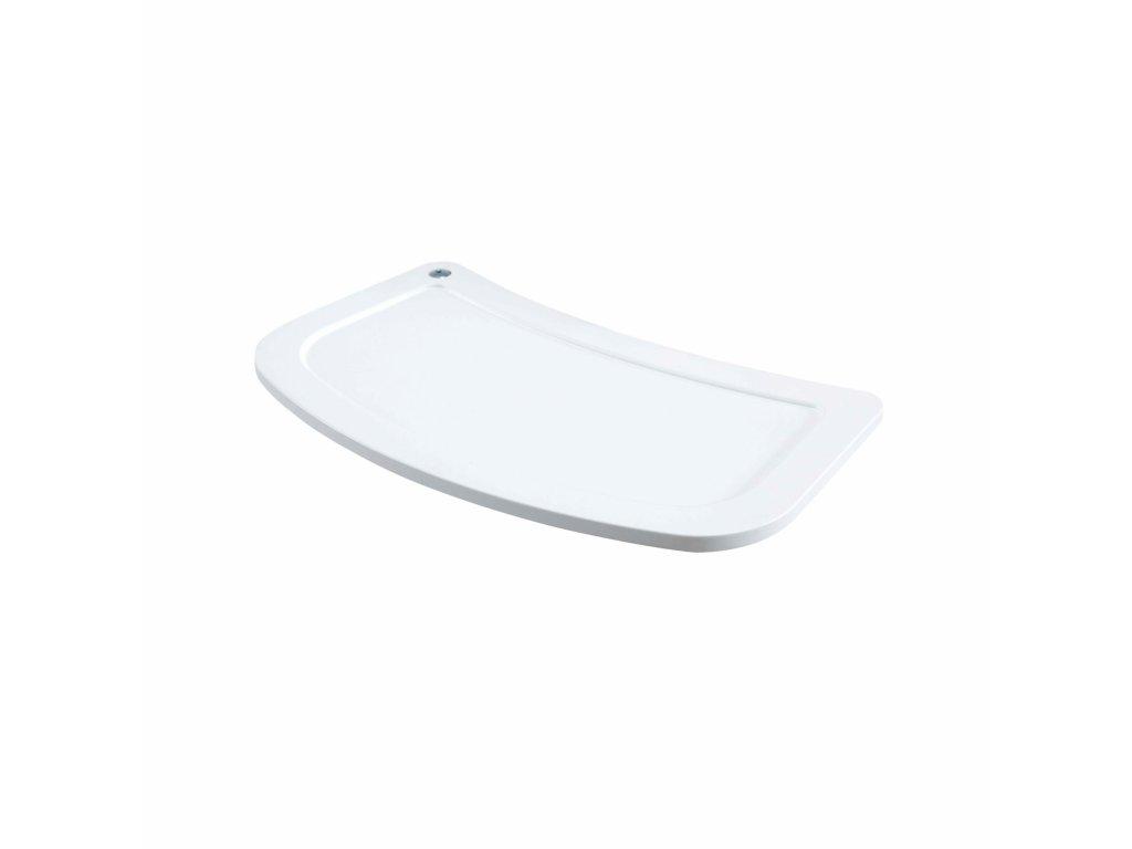 18266 micuna plastovy podnos ovo biely