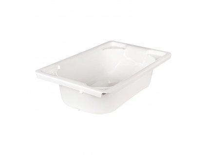Qaux biela plastová vanička