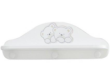 Italbaby polička do detskej izby Lovely Bears