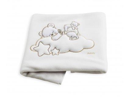 Italbaby fleecová deka do kočíka