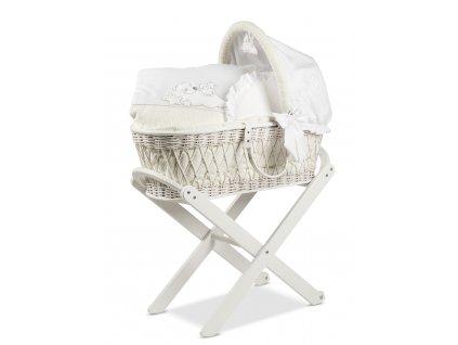 Italbaby rozprávkový prútený košík pre bábätko Sogni D´oro