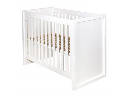 Quax prestaviteľná posteľ 90x200cm biela