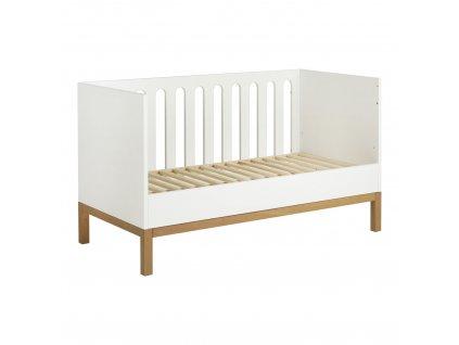 Quax biela posteľ 70x140cm