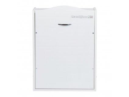 Quax nástenný prebaľovací pult biely