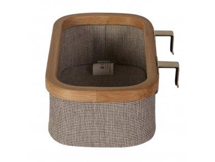 Quax závesny bamboo košík na plienky