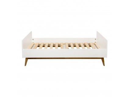 Quax masívna detská posteľ Trendy biela