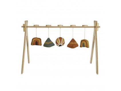 Quax drevená hrazdička pre bábätko