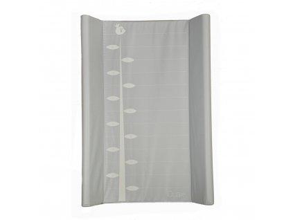 Quax prebaľovacia podložka s pravítkom bledo šedá