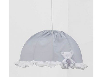 Italbaby luster do detskej izby Peluche šedý