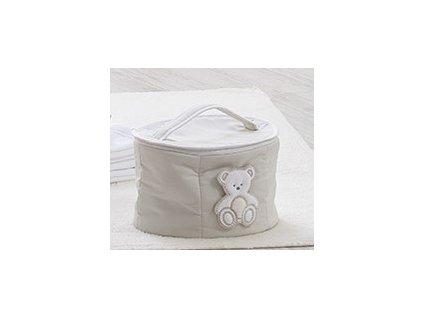 Italbaby oválny kozmetický kufrík Peluche