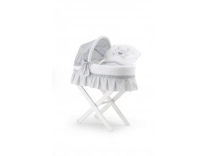 Italbaby prútený kôš na spanie pre miminko Jolie