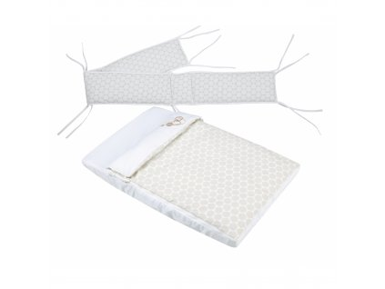 Micuna posteľný set s mantinelom
