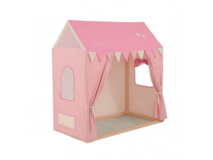 Micuna poťah Pink Camp na domček Tipi