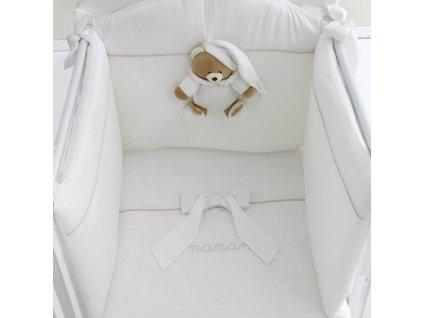 Nanán súprava detskej bielizne s mantinelom