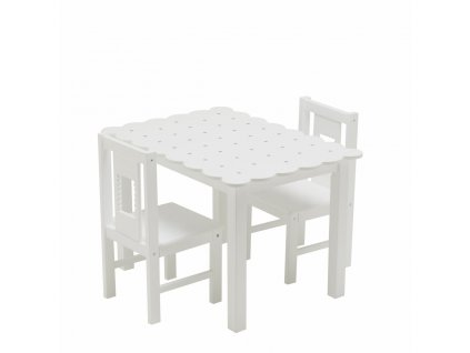Sada stôl a stolička sušienka