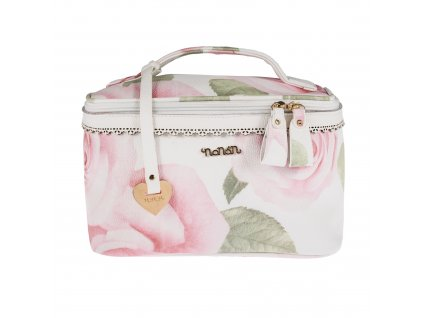 Nanán kožený kozmetický kufrík pre mamičky