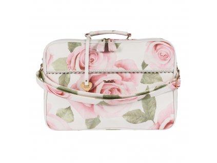 Nanán cestovná taška pre mamičky s kvetinkami