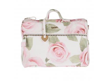 Nanán cestovná taška na kočík s kvetinkami