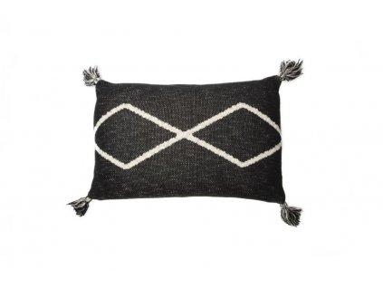 Lorena Canals pletený dekoračný vankúš