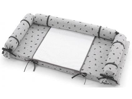 Italbaby textilná prebaľovacia poduška na komodu Jurassic