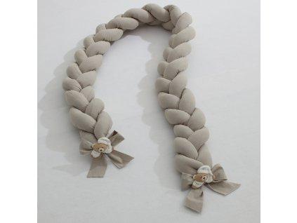 Nanán bavlnený vrkoč z kolekcie Tato