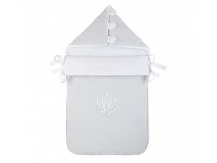 Caramella Pure Grey spací vak pre bábätko