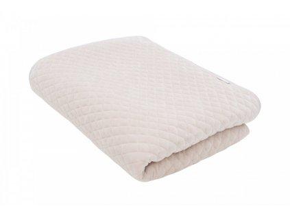 Caramella Golden Sand prehoz na posteľ béžový