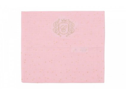 Caramella Pastel Chic plienka na zavinovanie ružová