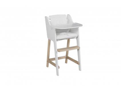 Micuna detská jedálenská stolička Troya biela