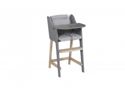 Micuna detská stolička Troya šedá